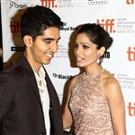Freida Pinto and Dev Patel at the Trishna Premiere.  Photos from WENN 93845