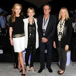 Nicole Kidman, Cate Blanchett, Geoffrey Rush and Toni Collette pose at Tropfest 2012 short film festival at The Royal Botanic Gardens in Sydney 106591