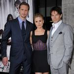 Anna Paquin Stephen Moyer Alexander Skarsgard at True Blood Season 4 premiere 88220