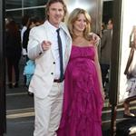Sam Trammell and his pregnant girlfriend Missy Yager True Blood Season 4 premiere 88227