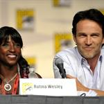 Rutina Wesley and Stephen Moyer promote True Blood at Comic-Con 2009 43580