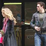 Kellan Lutz and his really bad hair with the McCord girl in Vancouver  83568