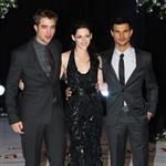 Kristen Stewart, Robert Pattinson, and Taylor Lautner at The Twilight Saga: Breaking Dawn, Pt. 1 Premiere in London 98539