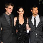Kristen Stewart, Robert Pattinson, and Taylor Lautner at The Twilight Saga: Breaking Dawn, Pt. 1 Premiere in London 98541