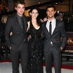Kristen Stewart, Robert Pattinson, and Taylor Lautner at The Twilight Saga: Breaking Dawn, Pt. 1 Premiere in London 98543