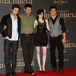 Kristen Stewart, Robert Pattinson, and Taylor Lautner in Madrid to promote New Moon 50460