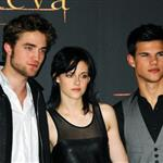 Kristen Stewart, Robert Pattinson, and Taylor Lautner in Madrid to promote New Moon 50461