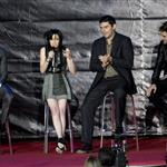 Kristen Stewart, Robert Pattinson, Taylor Lautner in Madrid for a fan event to promote New Moon  50507