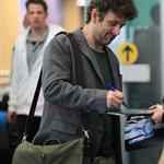 Michael Sheen arrives in Vancouver for final Twilight reshoots  112782