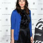 Liv Tyler in bright blue for G-Star New York Fashion Week 55262