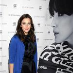 Liv Tyler in bright blue for G-Star New York Fashion Week 55263