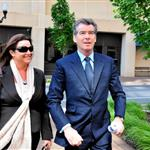 Pierce Brosnan in Washington with wife Keely 40058