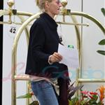 Uma Thurman arrives in Vancouver to begin shooting Percy Jackson 41423