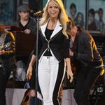 Carrie Underwood on Good Morning America  113122