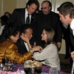 Brad Pitt and Angelina Jolie with Muhammad Ali at the Unicef Ball 52046