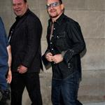 Bono and The Edge at the Masonic Temple in Toronto 47131