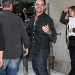 Bono and The Edge at the Masonic Temple in Toronto 47135