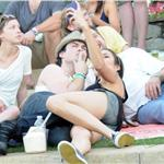 Nina Dobrev and Ian Somerhalder hang out with Joshua Jackson and Diane Kruger at Coachella  83348