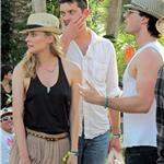 Nina Dobrev and Ian Somerhalder hang out with Joshua Jackson and Diane Kruger at Coachella  83350