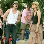 Nina Dobrev and Ian Somerhalder hang out with Joshua Jackson and Diane Kruger at Coachella  83351