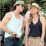 Nina Dobrev and Ian Somerhalder hang out with Joshua Jackson and Diane Kruger at Coachella  83352