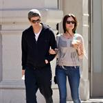 Paul Wesley and wife Torrey DeVitto taking an early morning stroll through the SoHo neighborhood of NYC 111811