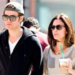 Paul Wesley and wife Torrey DeVitto taking an early morning stroll through the SoHo neighborhood of NYC 111814