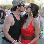Ian Somerhalder and Nina Dobrev at Coachella 2012 111817
