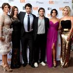 Selena Gomez, Rachel Korine, James Franco, Vanessa Hudgens and Ashley Benson attend the Spring Breakers premiere at TIFF 2012 126155