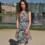 Vanessa Paradis poses during the Chanel 2012/13 Cruise Collection Photocall at Chateau de Versailles 114635