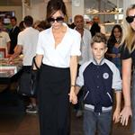 Victoria Beckham shops in Paris with her son Romeo 121422