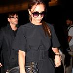 Victoria Beckham arrives at LAX 119070
