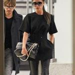 Victoria Beckham arrives at LAX 119081