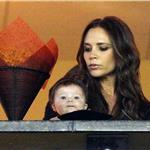 Victoria Beckham and Harper Seven at LA Galaxy game  97734
