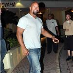 Dwayne The Rock Johnson in San Juan for Fast Five 65098