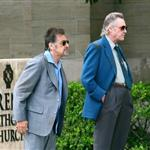 Christopher Walken and Al Pacino film Stand Up Guys 111101