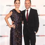 Andrew Lincoln and Sarah Wayne Callies at MIPCOM with Jon Hamm and Elisabeth Moss  74401