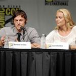 Norman Reedus and Laurie Holden at Comic-Con for Season 3 of The Walking Dead 120761