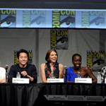 The Cast of The Walking Dead at Comic-Con to promote Season 3 120766