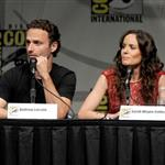 Andrew Lincoln and Sarah Wayne Callies at Comic-Con for Season 3 of The Walking Dead 120767