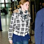 Emma Watson at Heathrow en route to Scotland 37037