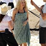 Naomi Watts shooting The Grandmothers with Robin Wright in Sydney this week 105435