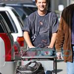 Mike Welch arrives in Vancouver to shoot New Moon 36243