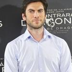 Wes Bentley and Olga Kurylenko promote There Be Dragons in Spain 81888