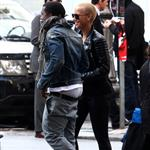 Kanye West takes Amber Rose shopping in Rome  50470