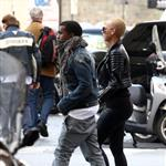 Kanye West takes Amber Rose shopping in Rome  50471