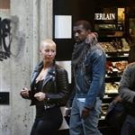Kanye West takes Amber Rose shopping in Rome  50473