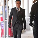 Ed Westwick shooting Gossip Girl in New York 76561