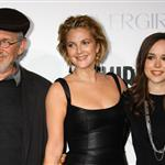Drew Barrymore, Ellen Page, and Steven Spielberg at the Whip It LA premiere  47899