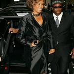 Whitney Houston in London in advance of new album comeback supported by Clive Davis 42961